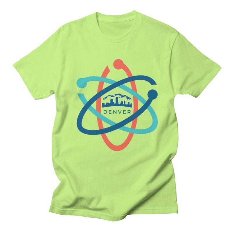 Denver March For Science Logo Men's Regular T-Shirt by Denver March For Science's Artist Shop