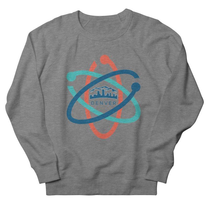 Denver March For Science Logo Men's French Terry Sweatshirt by Denver March For Science's Artist Shop
