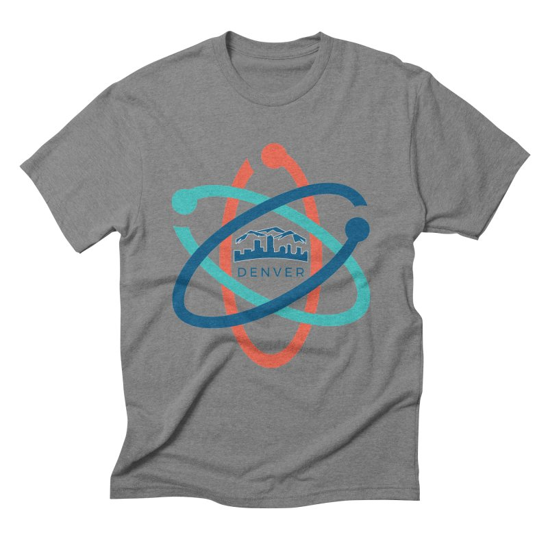 Denver March For Science Logo Men's Triblend T-Shirt by Denver March For Science's Artist Shop