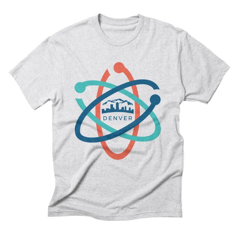 Denver March For Science Logo Men's Triblend T-Shirt by Denver March For Science's Artist Shop