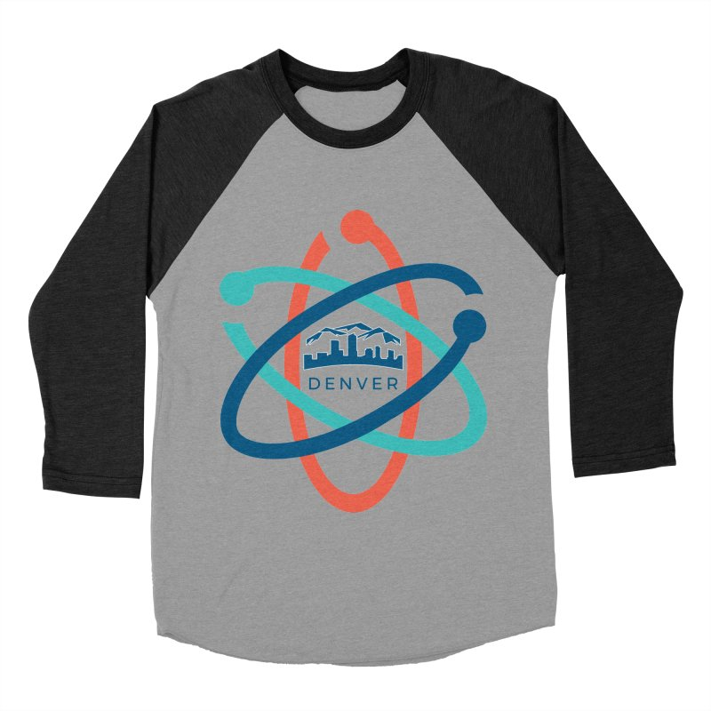 Denver March For Science Logo Women's Baseball Triblend Longsleeve T-Shirt by Denver March For Science's Artist Shop