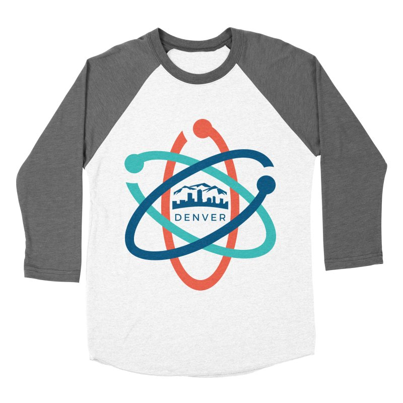 Denver March For Science Logo Men's Baseball Triblend T-Shirt by Denver March For Science's Artist Shop