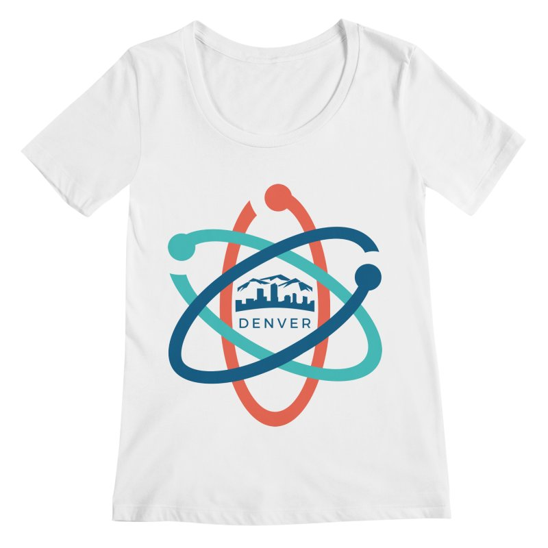 Denver March For Science Logo Women's Regular Scoop Neck by Denver March For Science's Artist Shop