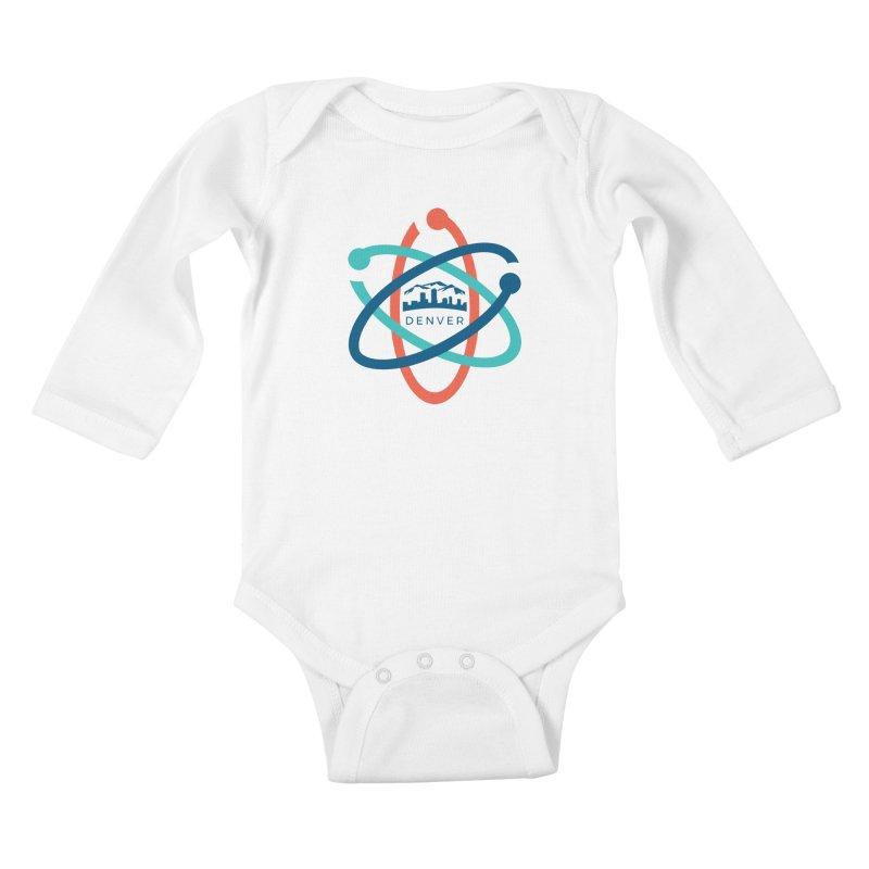 Denver March For Science Logo Kids Baby Longsleeve Bodysuit by Denver March For Science's Artist Shop