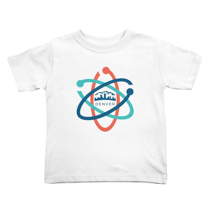 Denver March For Science Logo Kids Toddler T-Shirt by Denver March For Science's Artist Shop