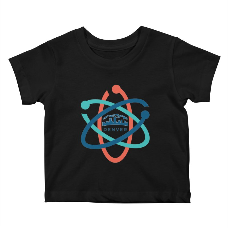 Denver March For Science Logo Kids Baby T-Shirt by Denver March For Science's Artist Shop