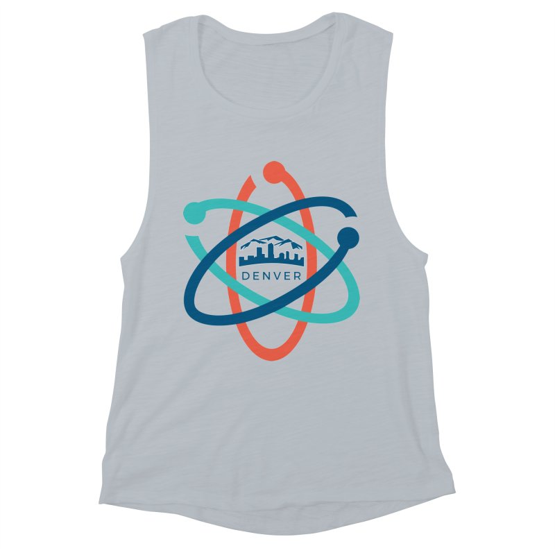 Denver March For Science Logo Women's Muscle Tank by Denver March For Science's Artist Shop
