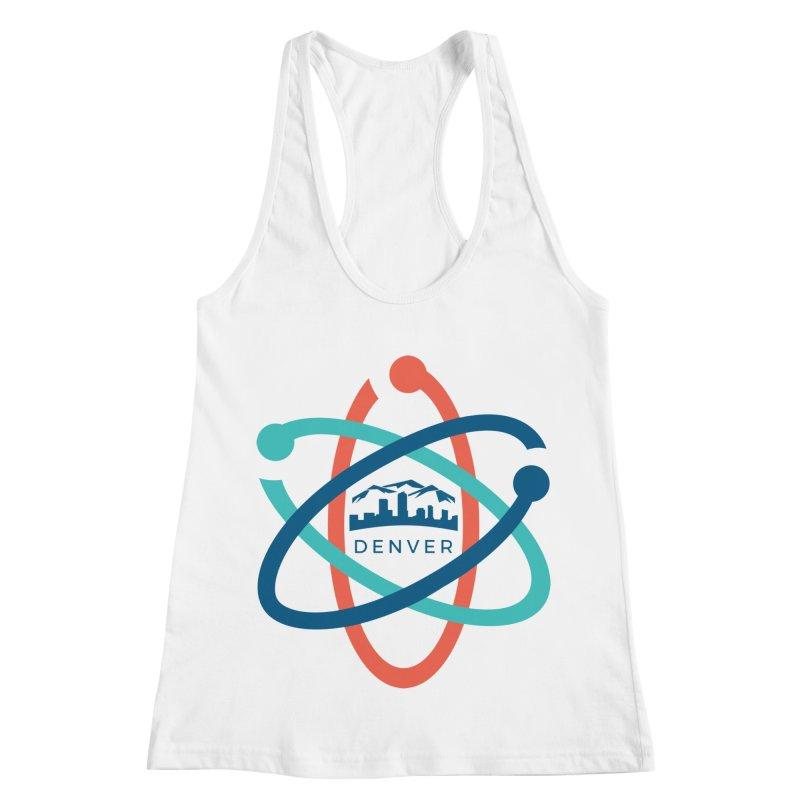 Denver March For Science Logo Women's Racerback Tank by Denver March For Science's Artist Shop