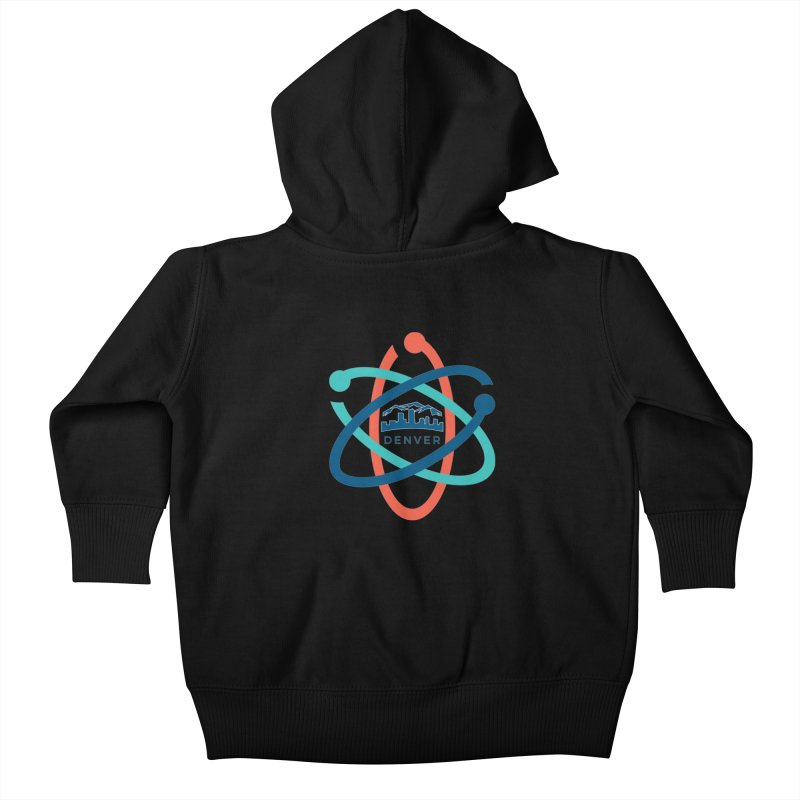 Denver March For Science Logo Kids Baby Zip-Up Hoody by Denver March For Science's Artist Shop