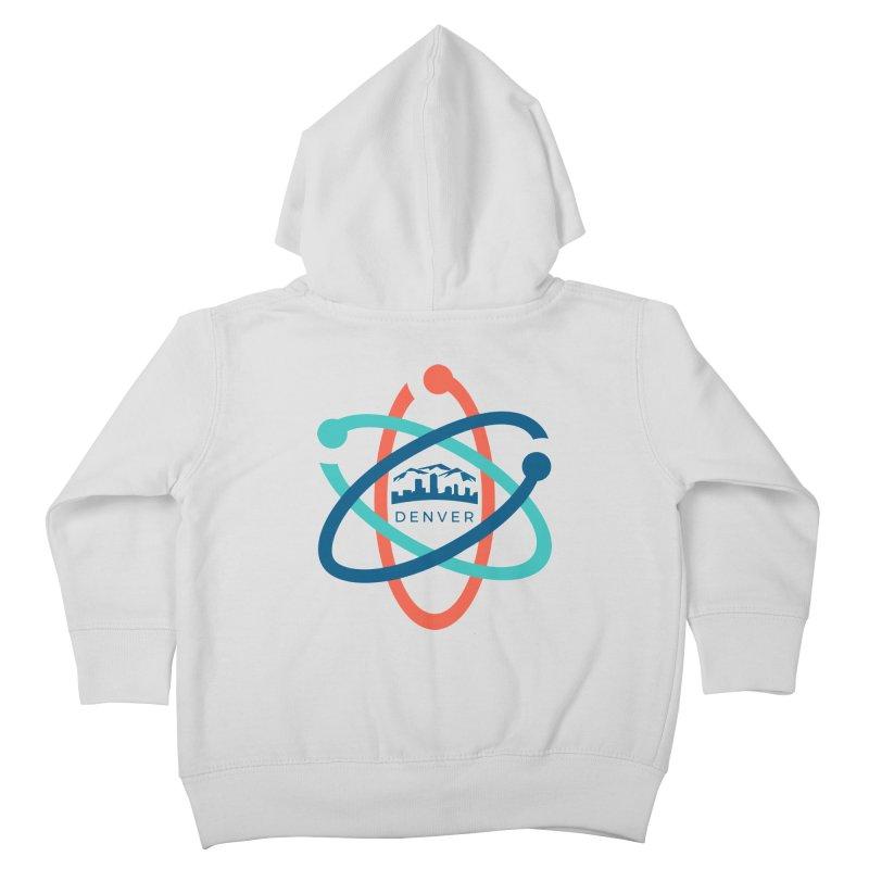 Denver March For Science Logo Kids Toddler Zip-Up Hoody by Denver March For Science's Artist Shop