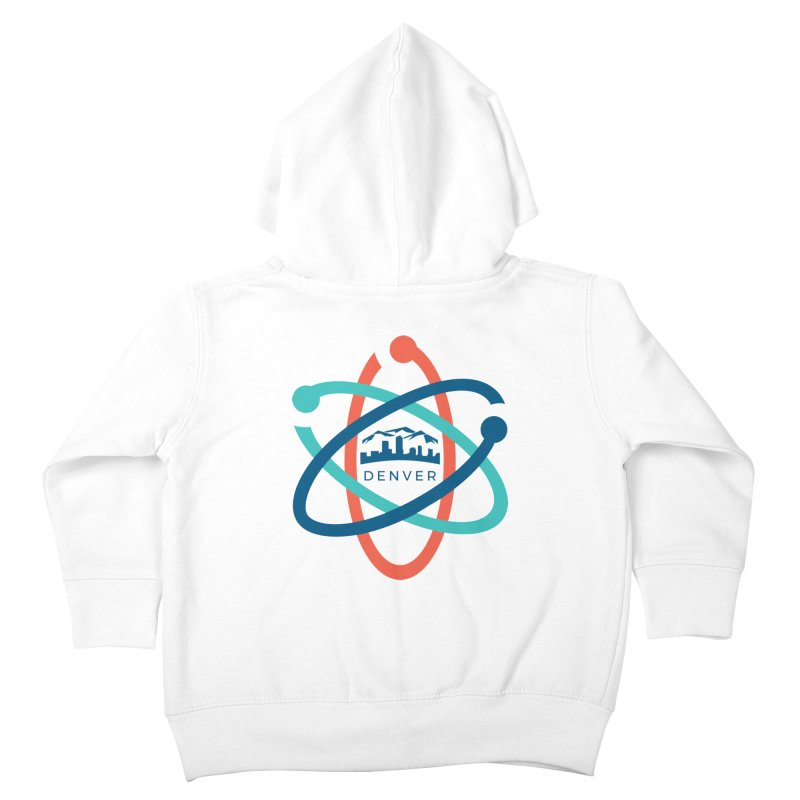 Denver March For Science Logo Kids Toddler Zip-Up Hoody by Denver March For Science's Artist Shop