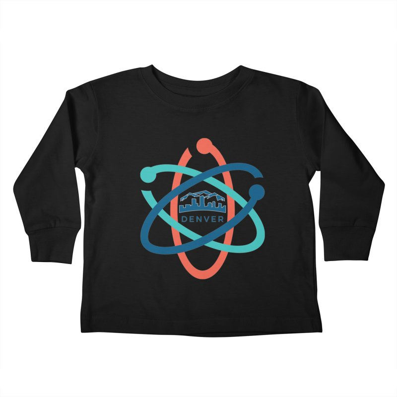 Denver March For Science Logo Kids Toddler Longsleeve T-Shirt by Denver March For Science's Artist Shop