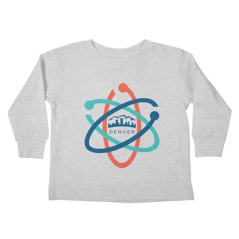 Denver March For Science Logo Kids Toddler Longsleeve T-Shirt by Denver March For Science's Artist Shop