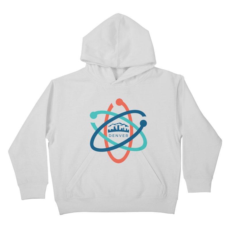 Denver March For Science Logo Kids Pullover Hoody by Denver March For Science's Artist Shop