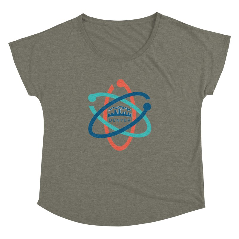 Denver March For Science Logo Women's Dolman Scoop Neck by Denver March For Science's Artist Shop