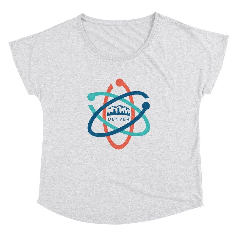 Denver March For Science Logo Women's Dolman Scoop Neck by Denver March For Science's Artist Shop