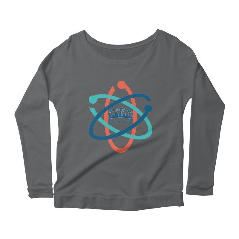 Denver March For Science Logo Women's Longsleeve Scoopneck  by Denver March For Science's Artist Shop