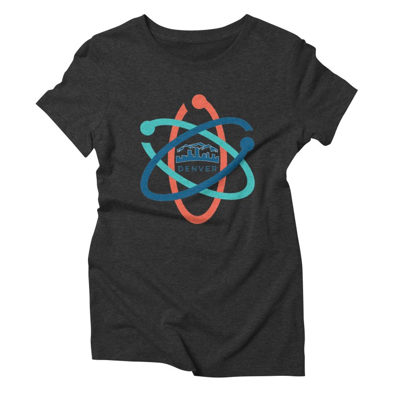 Denver March For Science Logo Women's Triblend T-Shirt by Denver March For Science's Artist Shop