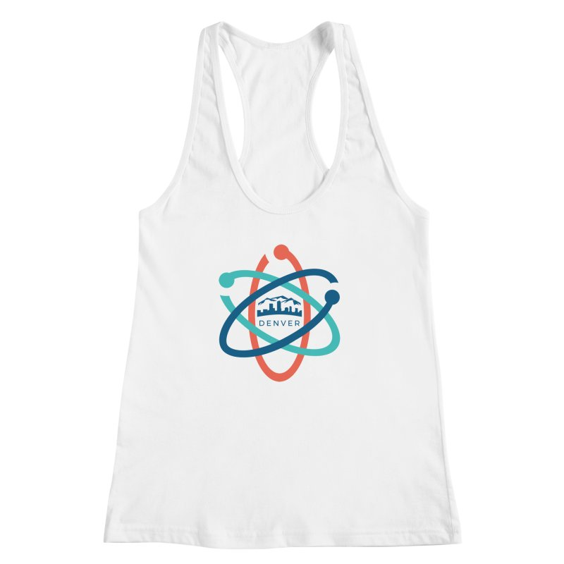 Denver March For Science Logo Women's Racerback Tank by Denver March For Science's Artist Shop