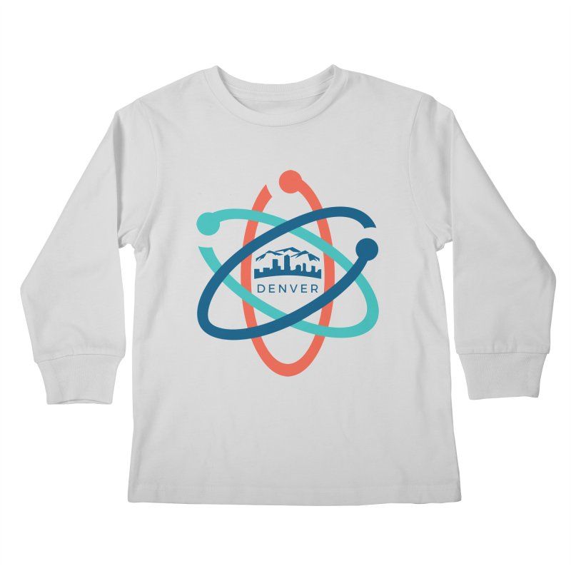 Denver March For Science Logo Kids Longsleeve T-Shirt by Denver March For Science's Artist Shop