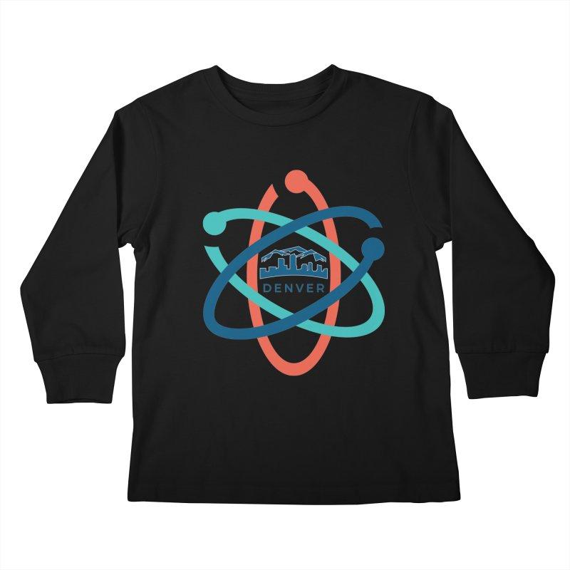 Denver March For Science Logo Kids Longsleeve T-Shirt by Denver March For Science's Artist Shop