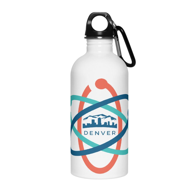 Denver March For Science Logo Accessories Water Bottle by Denver March For Science's Artist Shop