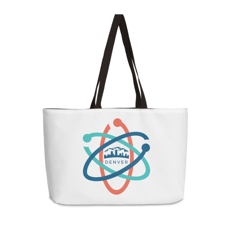 Denver March For Science Logo Accessories Weekender Bag Bag by Denver March For Science's Artist Shop