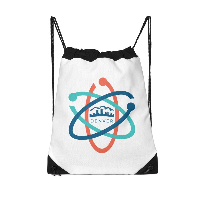 Denver March For Science Logo Accessories Drawstring Bag Bag by Denver March For Science's Artist Shop