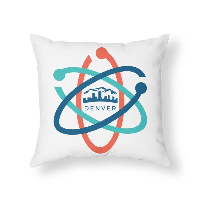 Denver March For Science Pocket Logo Home Throw Pillow by Denver March For Science's Artist Shop