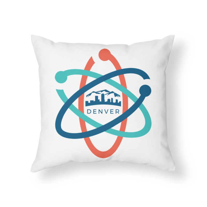 Denver March For Science Pocket Logo Home Throw Pillow by Denver March For Science's Artist Shop