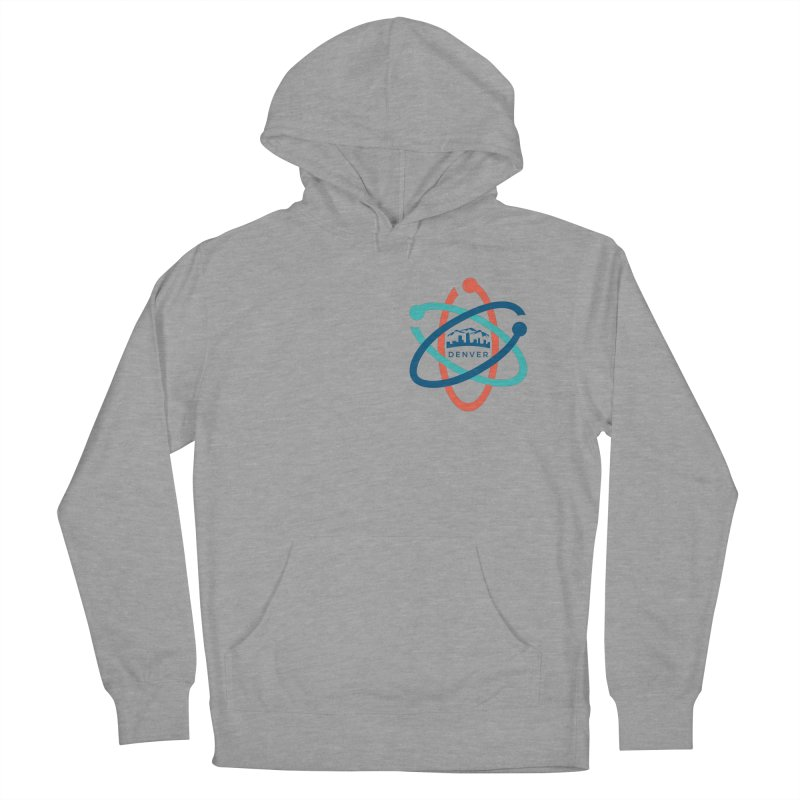 Denver March For Science Pocket Logo Women's French Terry Pullover Hoody by Denver March For Science's Artist Shop