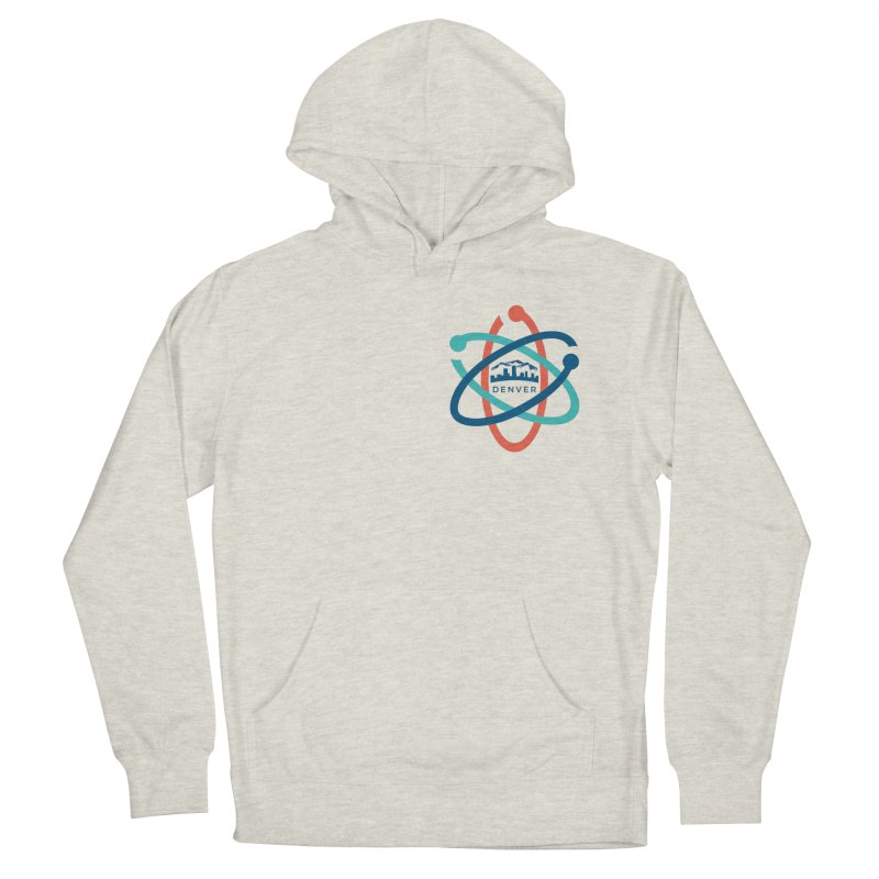 Denver March For Science Pocket Logo Men's French Terry Pullover Hoody by Denver March For Science's Artist Shop