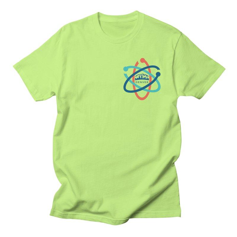 Denver March For Science Pocket Logo Men's Regular T-Shirt by Denver March For Science's Artist Shop