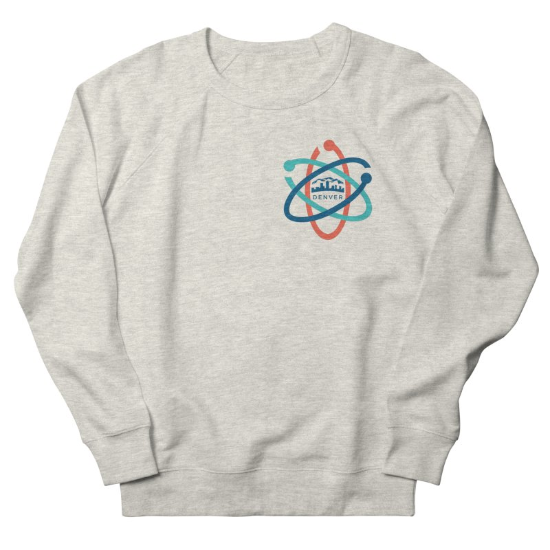 Denver March For Science Pocket Logo Women's French Terry Sweatshirt by Denver March For Science's Artist Shop