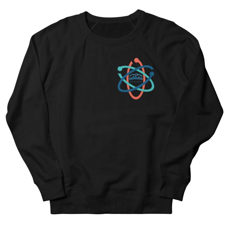Denver March For Science Pocket Logo Men's French Terry Sweatshirt by Denver March For Science's Artist Shop