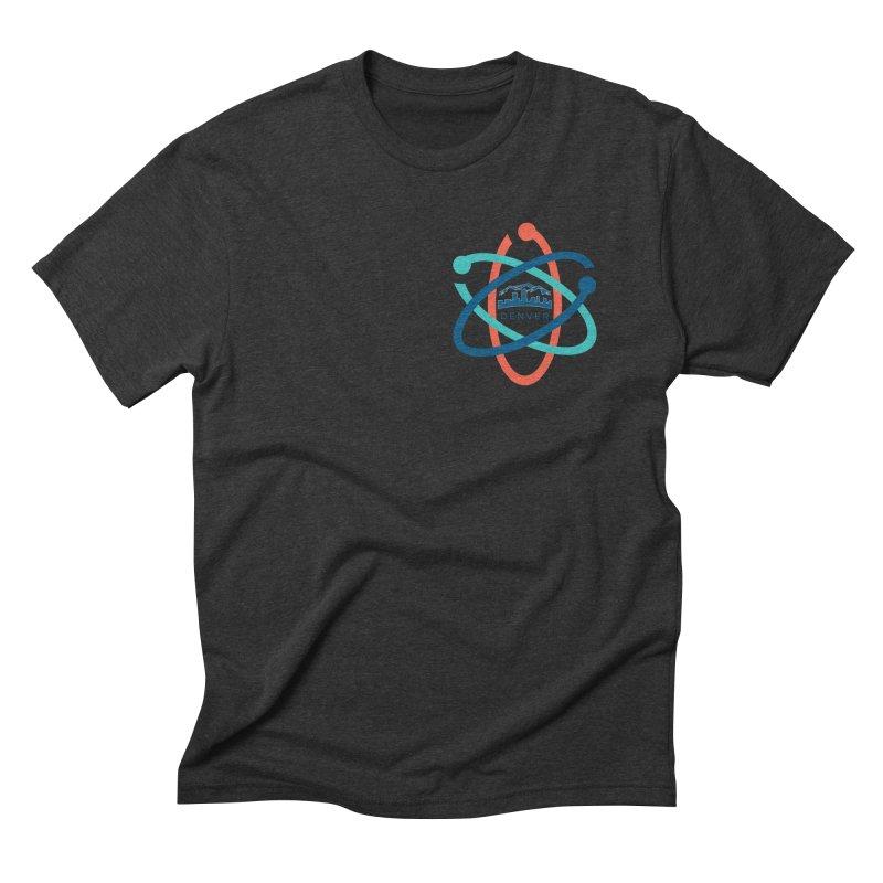 Denver March For Science Pocket Logo Men's Triblend T-Shirt by Denver March For Science's Artist Shop