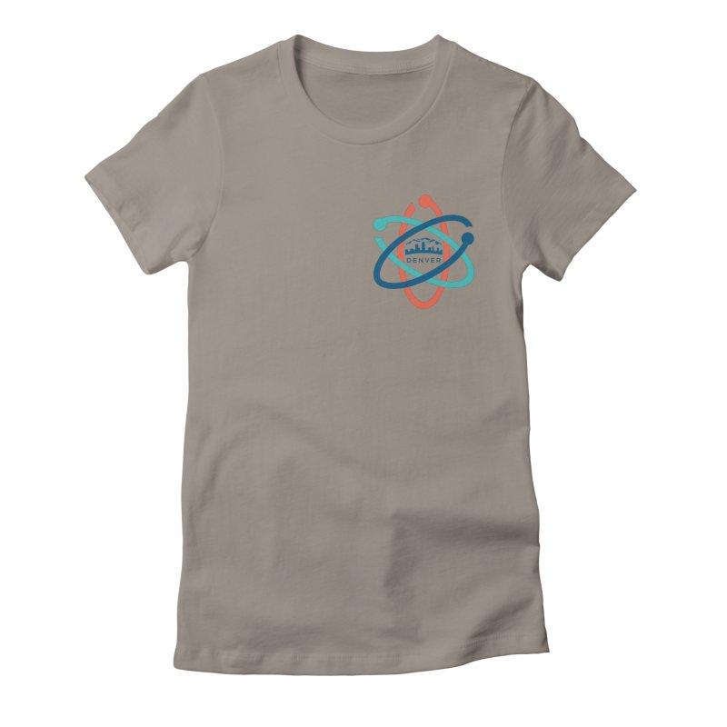 Denver March For Science Pocket Logo Women's T-Shirt by Denver March For Science's Artist Shop