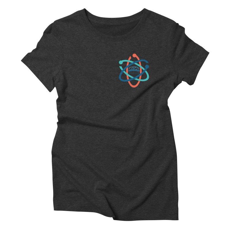Denver March For Science Pocket Logo Women's Triblend T-Shirt by Denver March For Science's Artist Shop