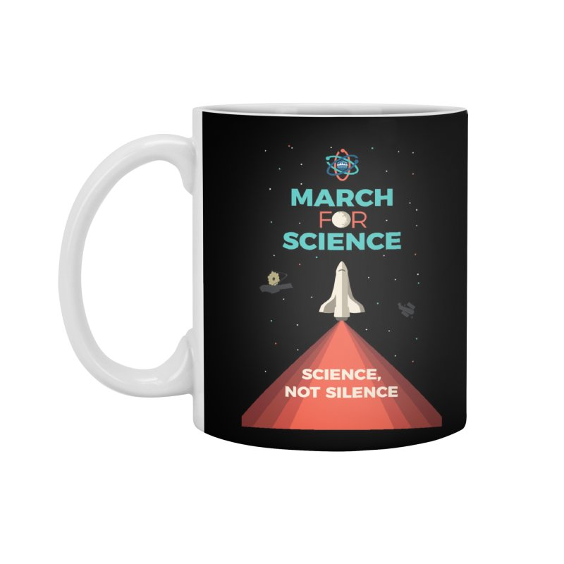 Denver March For Science Shuttle Accessories Standard Mug by Denver March For Science's Artist Shop
