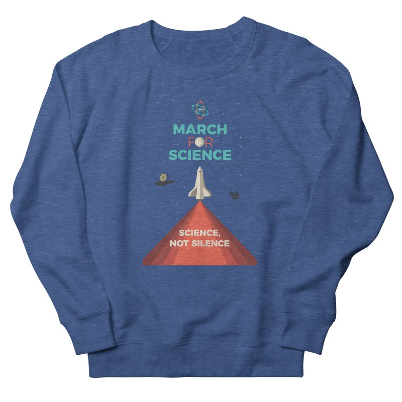 Denver March For Science Shuttle Women's Sweatshirt by Denver March For Science's Artist Shop