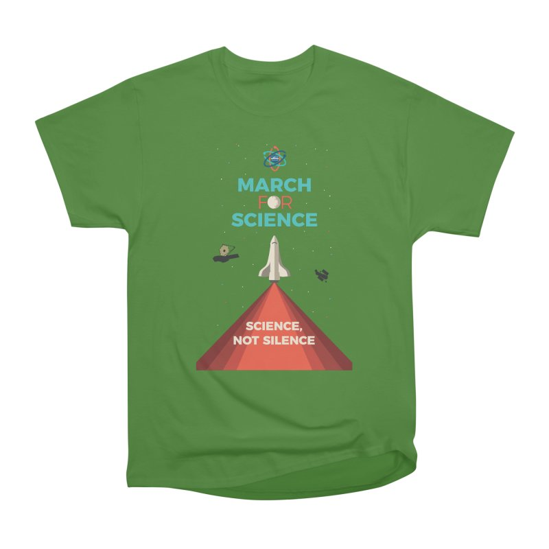Denver March For Science Shuttle Men's Classic T-Shirt by Denver March For Science's Artist Shop