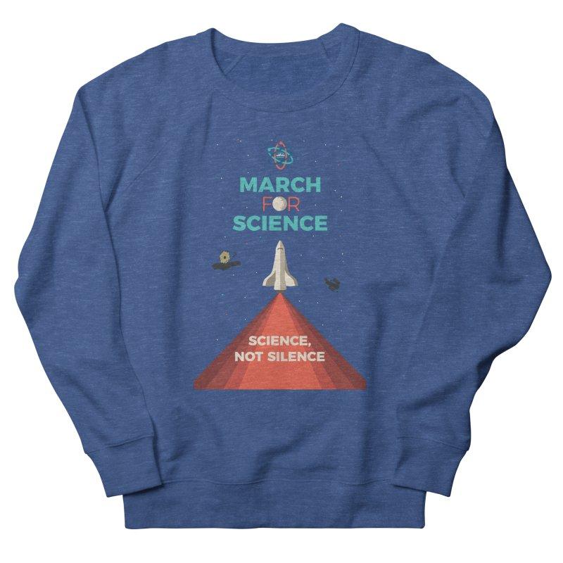 Denver March For Science Shuttle Women's Sweatshirt by Denver March For Science's Artist Shop