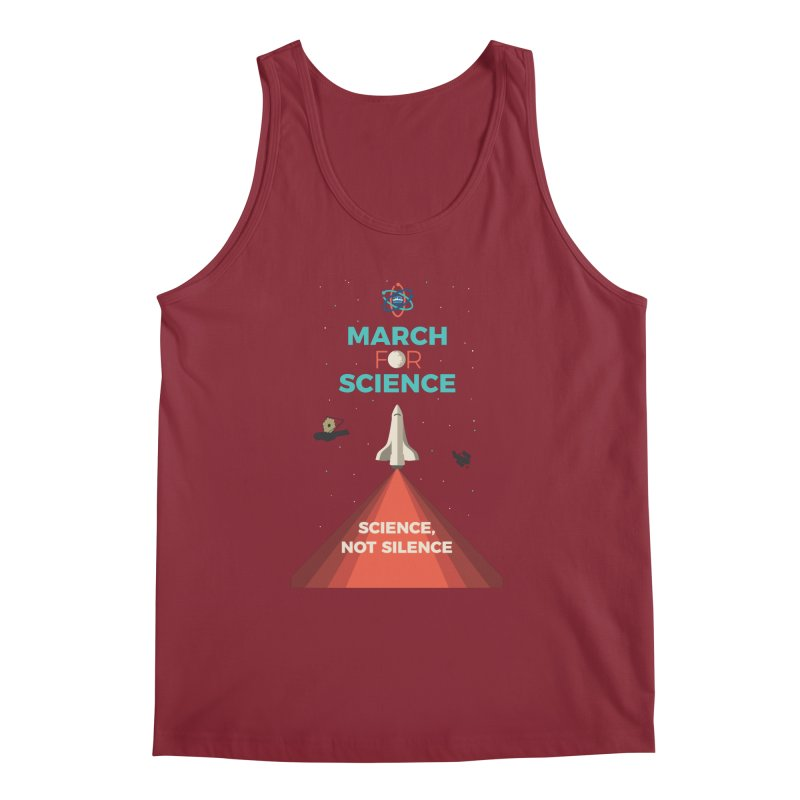 Denver March For Science Shuttle Men's Tank by Denver March For Science's Artist Shop