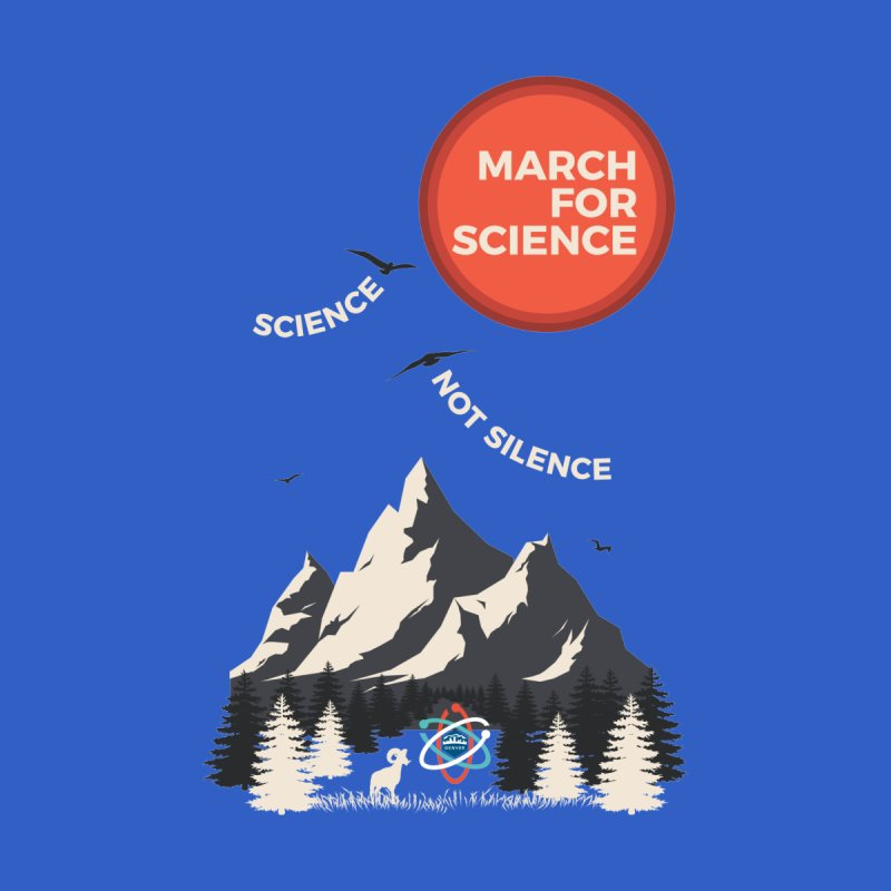 Denver March For Science Ecology Men's V-Neck by Denver March For Science's Artist Shop