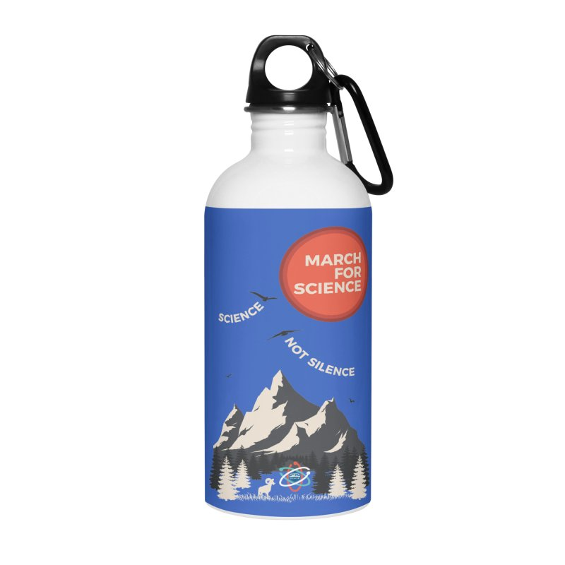 Denver March For Science Ecology Accessories Water Bottle by Denver March For Science's Artist Shop