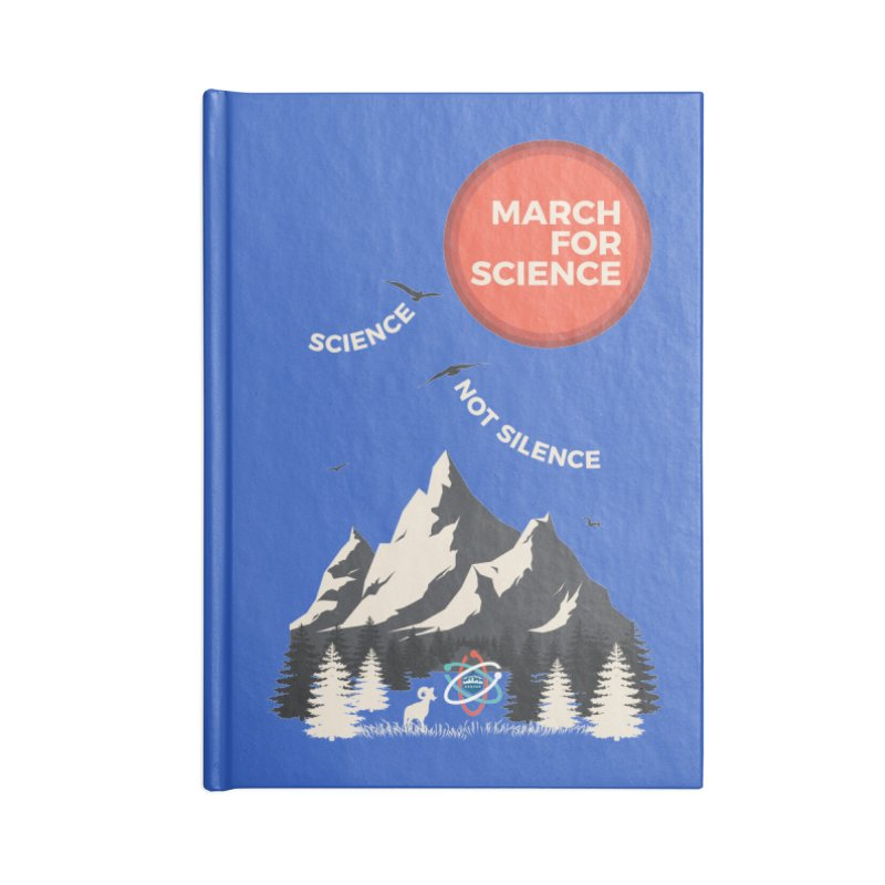 Denver March For Science Ecology Accessories Notebook by Denver March For Science's Artist Shop
