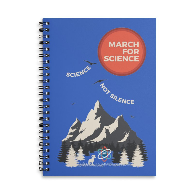 Denver March For Science Ecology Accessories Lined Spiral Notebook by Denver March For Science's Artist Shop