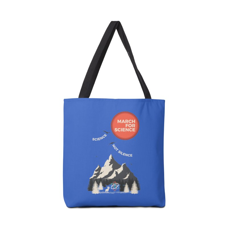 Denver March For Science Ecology Accessories Tote Bag Bag by Denver March For Science's Artist Shop