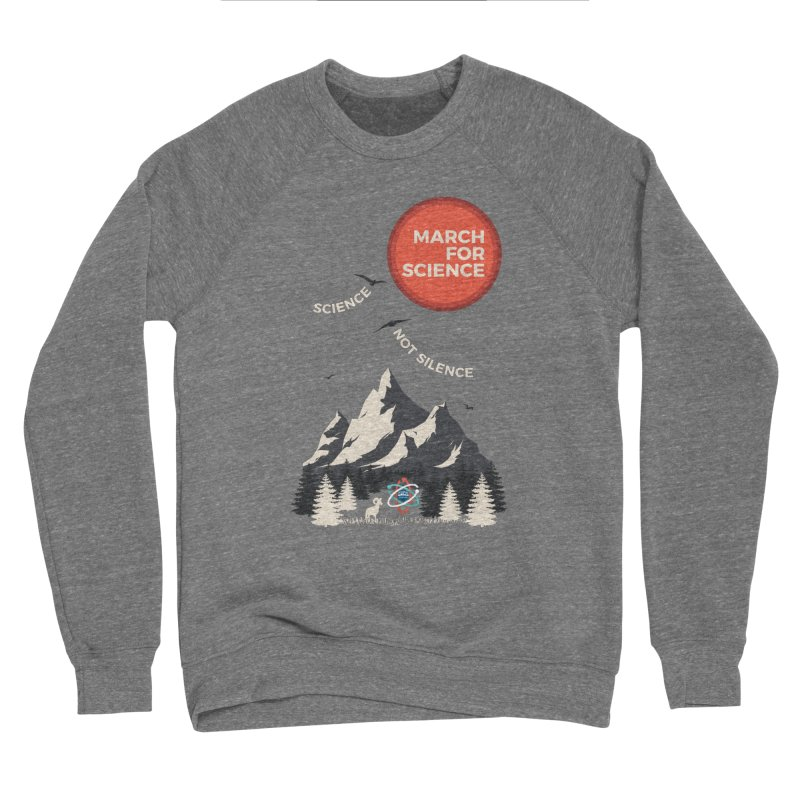 Denver March For Science Ecology Men's Sweatshirt by Denver March For Science's Artist Shop