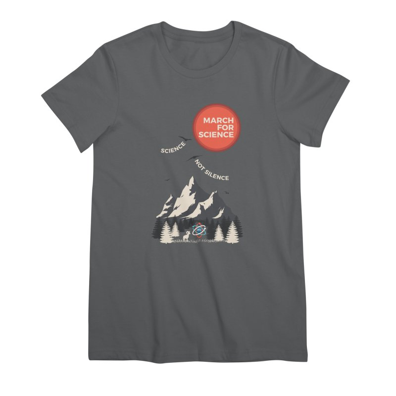 Denver March For Science Ecology Women's Premium T-Shirt by Denver March For Science's Artist Shop